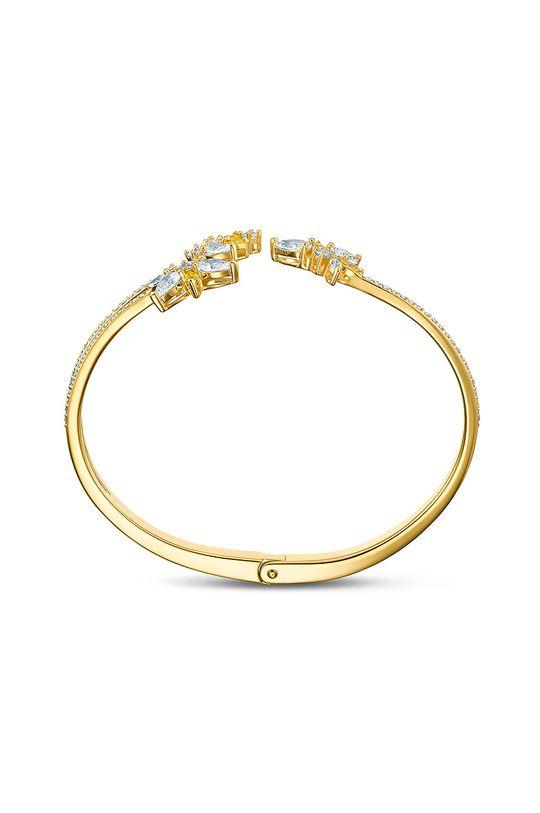 Swarovski - Náramok BOTANICAL zlatá