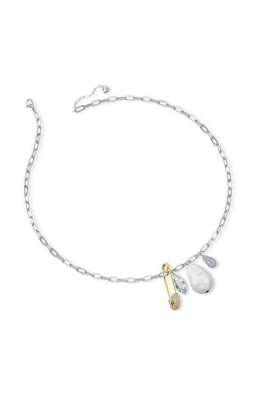 Swarovski - Naszyjnik SO COOL Metal, Perła, Kryształ Swarovskiego