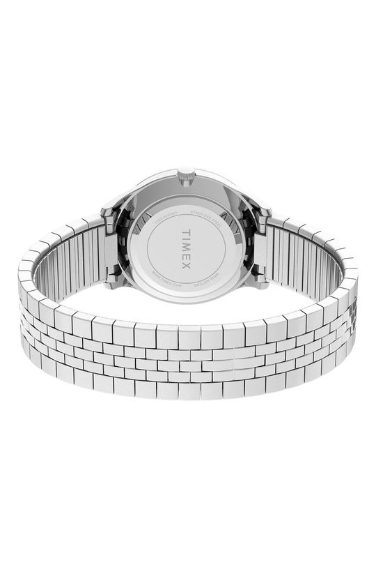 srebrny Timex - Zegarek TW2U40300
