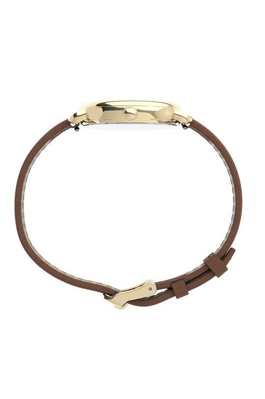Timex - Zegarek TW2U60000 brązowy