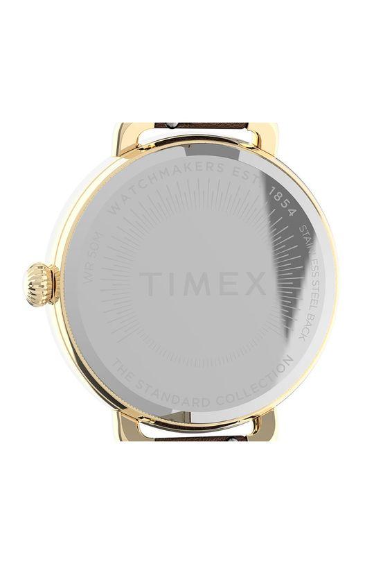 brązowy Timex - Zegarek TW2U60000