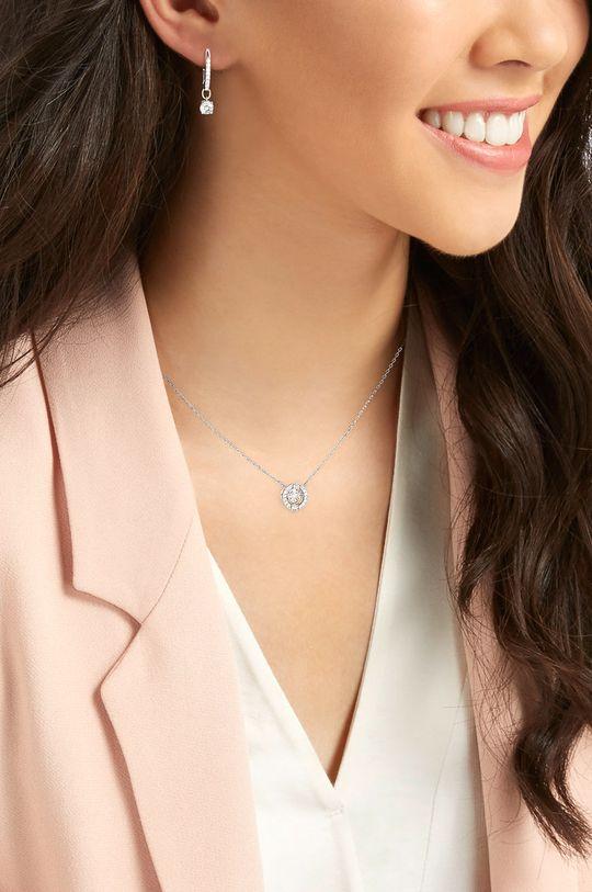 Swarovski - Náušnice a náhrdelník SPARKLING DC  Kov, Svarovského krystal