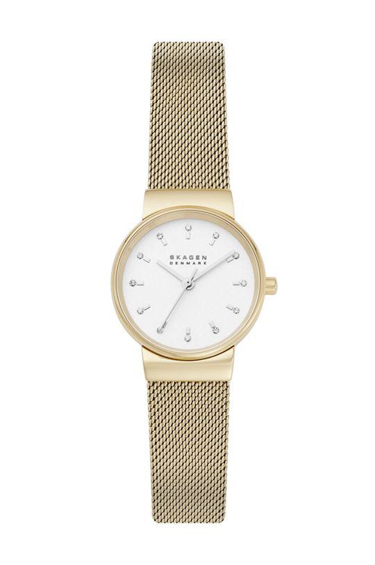 złoty Skagen - Zegarek SKW7202 Damski