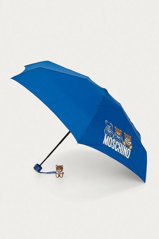 niebieski Moschino - Parasol Damski