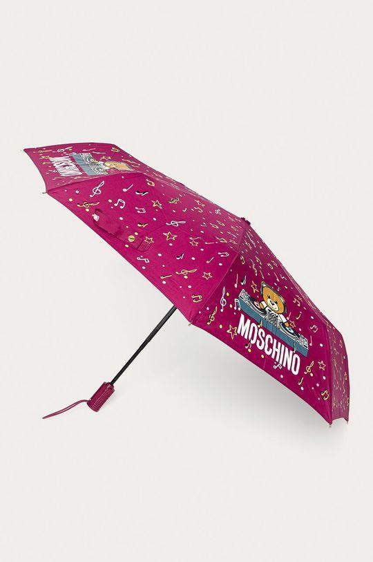 purpurowy Moschino - Parasol Damski