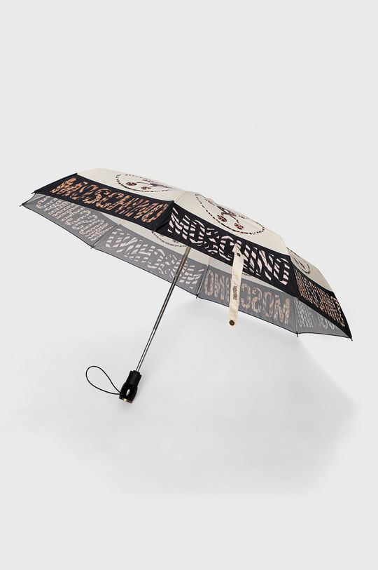 kremowy Moschino - Parasol Damski
