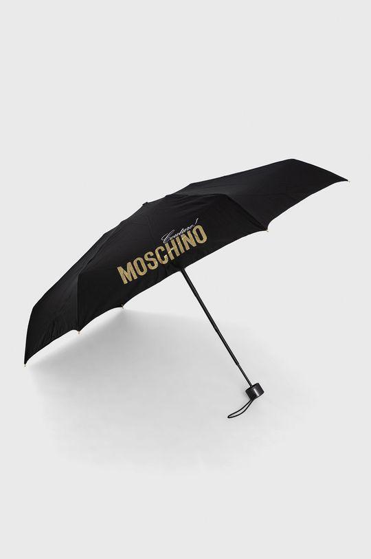 czarny Moschino - Parasol Damski