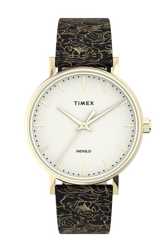 černá Timex - Hodinky TW2U40700 Dámský