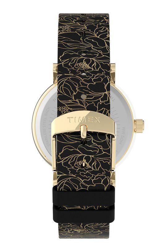 Timex - Hodinky TW2U40700  Mosaz, Přírodní kůže, Minerální sklo