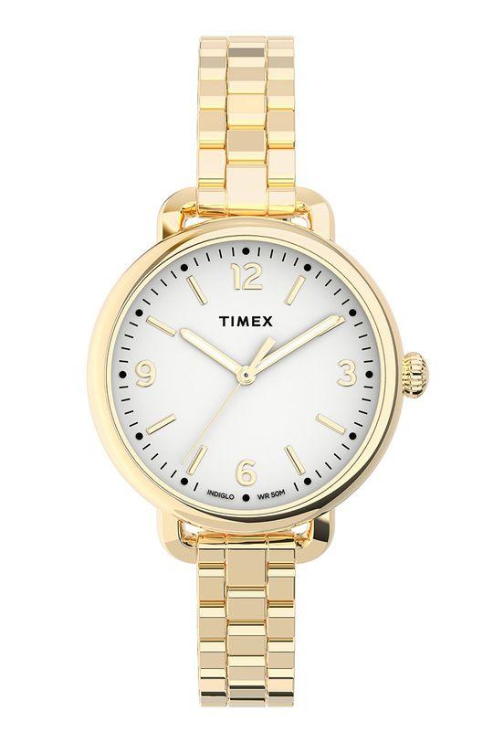 złoty Timex - Zegarek TW2U60600 Damski