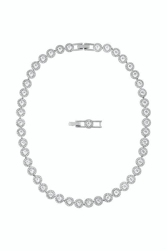 Swarovski - Naszyjnik ANGELIC srebrny
