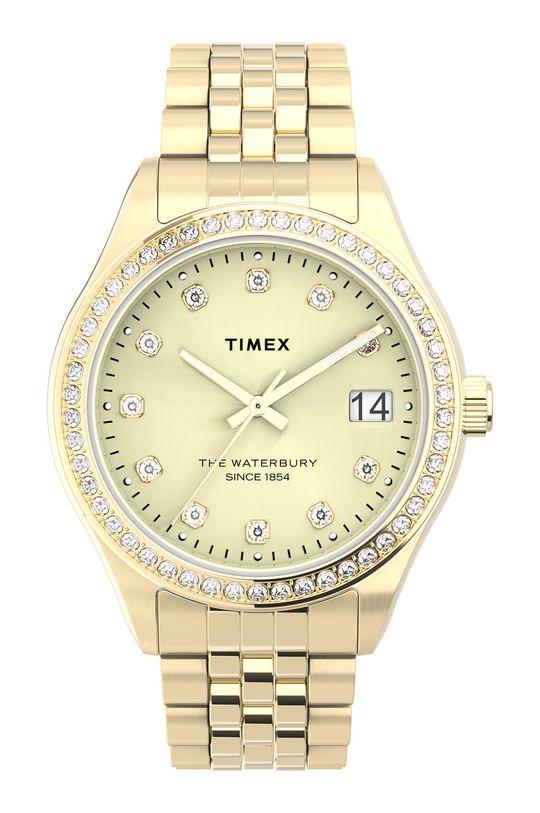 złoty Timex - Zegarek TW2U53800 Damski