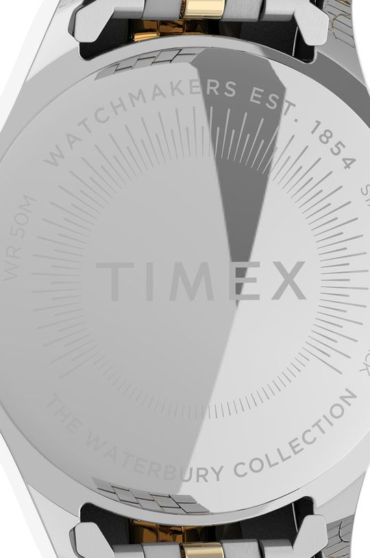 srebrny Timex - Zegarek TW2U53900