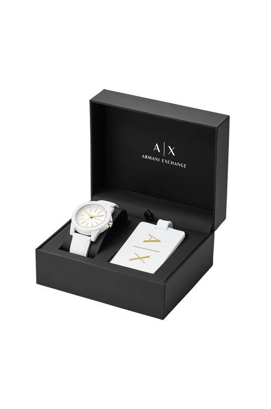 bílá Armani Exchange - Hodinky AX7126
