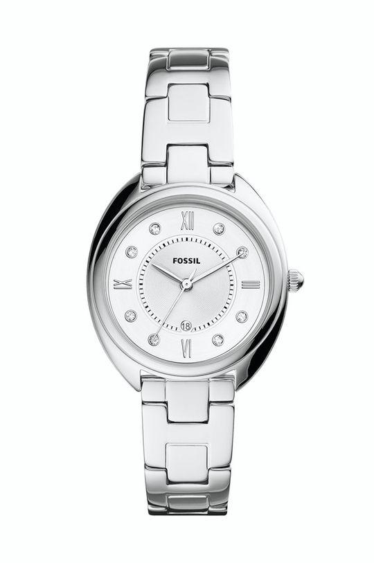 srebrny Fossil - Zegarek ES5069 Damski