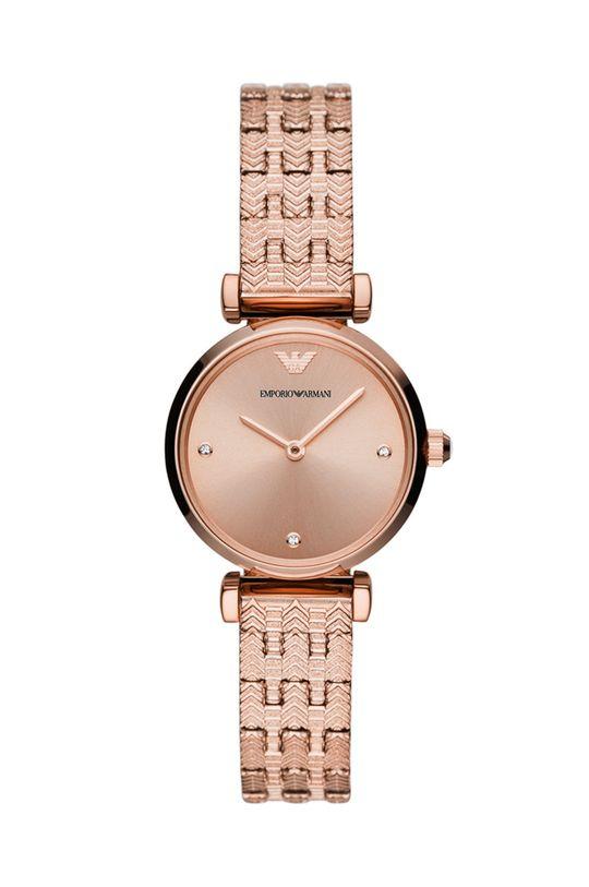 różowy Emporio Armani - Zegarek AR11342 Damski