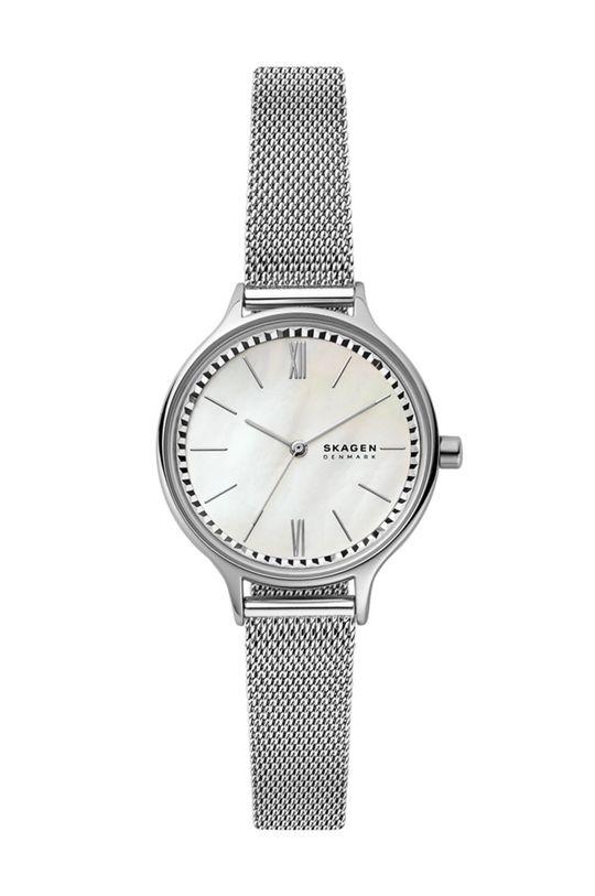 srebrny Skagen - Zegarek SKW2966 Damski