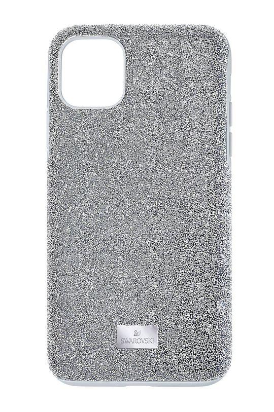 srebrny Swarovski - Etui na telefon HIGH IP11 Damski
