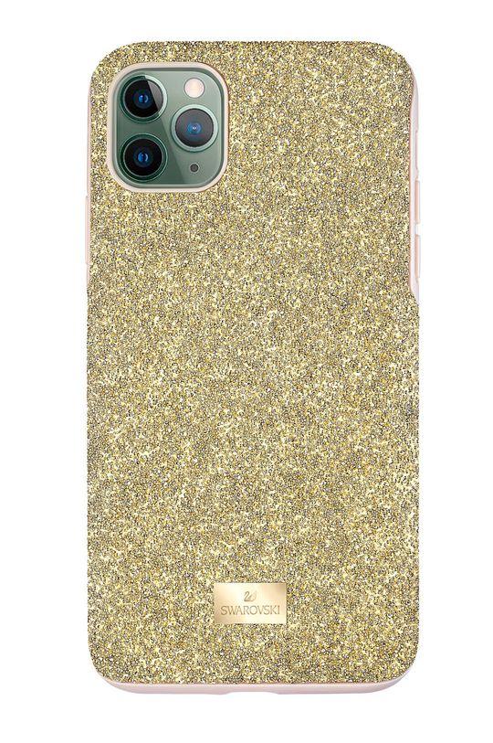 złoty Swarovski - Etui na telefon HIGH IP11 Damski