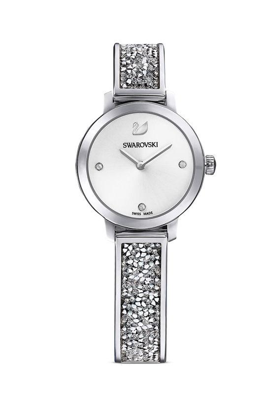 srebrny Swarovski - Zegarek 5376080 Damski