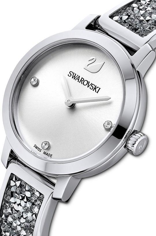 Swarovski - Zegarek 5376080 Stal, Szkło mineralne, Kryształ Swarovskiego