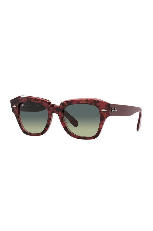 kasztanowy Ray-Ban - Okulary przeciwsłoneczne State Street Damski