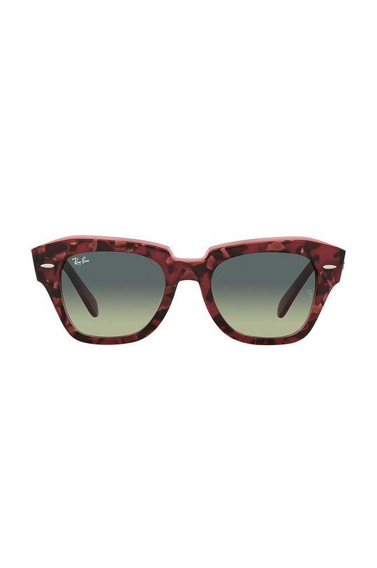 Ray-Ban - Okulary przeciwsłoneczne State Street kasztanowy