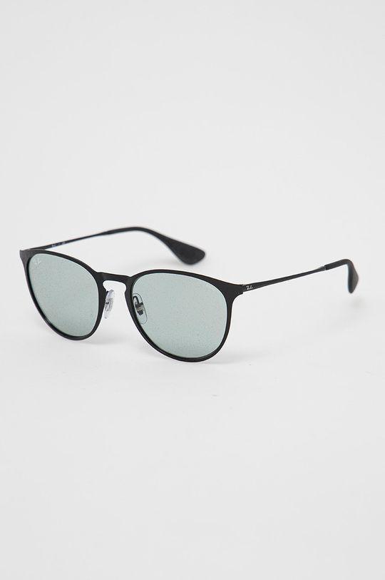 černá Ray-Ban - Sluneční brýle Erika Metal Dámský