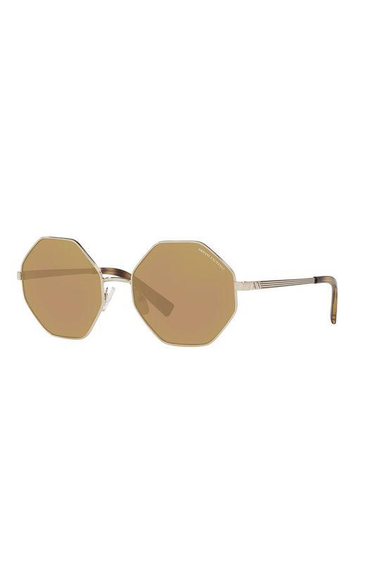 zlatá Armani Exchange - Slnečné okuliare 0AX2035S Dámsky