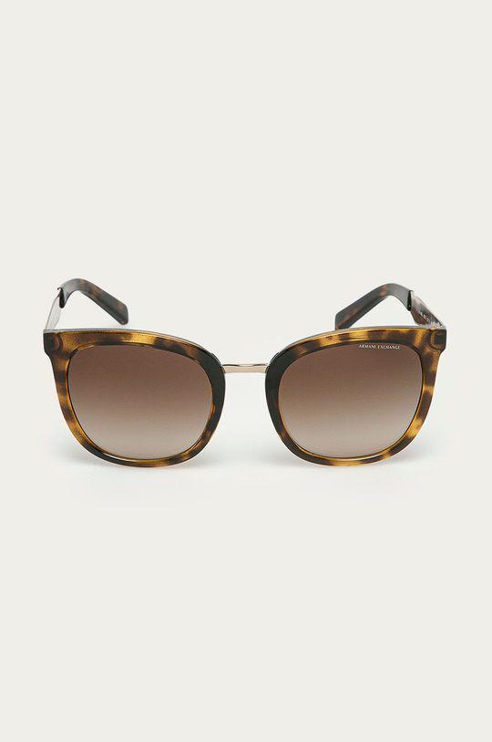 Armani Exchange - Okulary brązowy