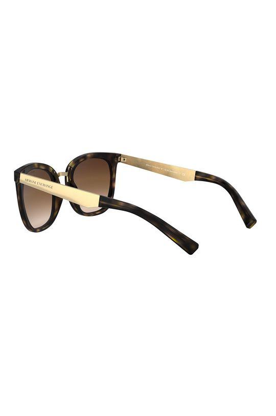 brązowy Armani Exchange - Okulary