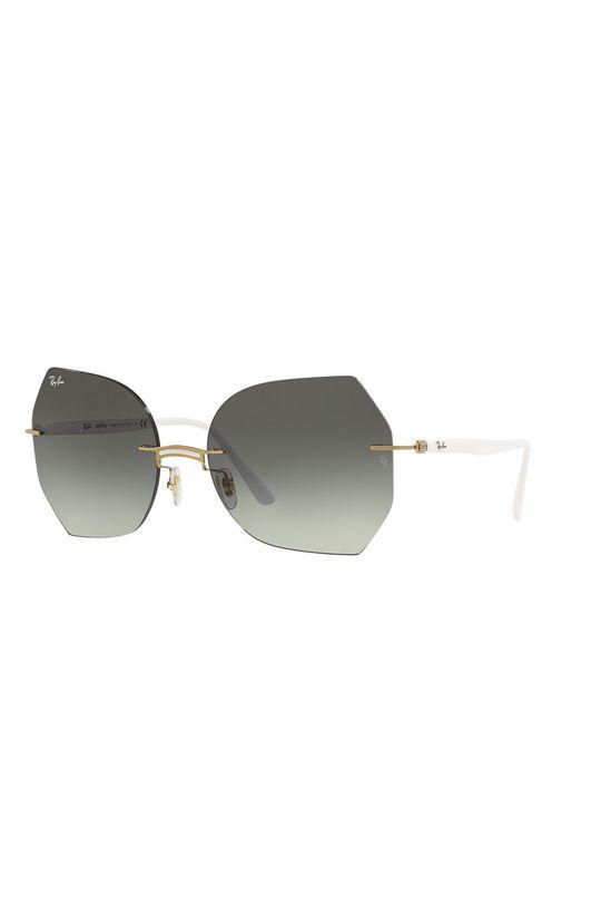 biały Ray-Ban - Okulary przeciwsłoneczne 0RB8065 Damski