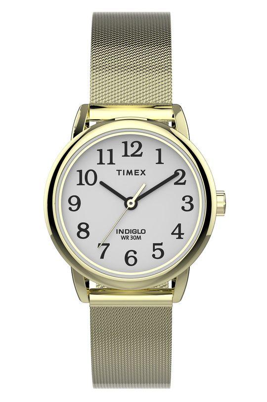 złoty Timex - Zegarek TW2U08000 Damski