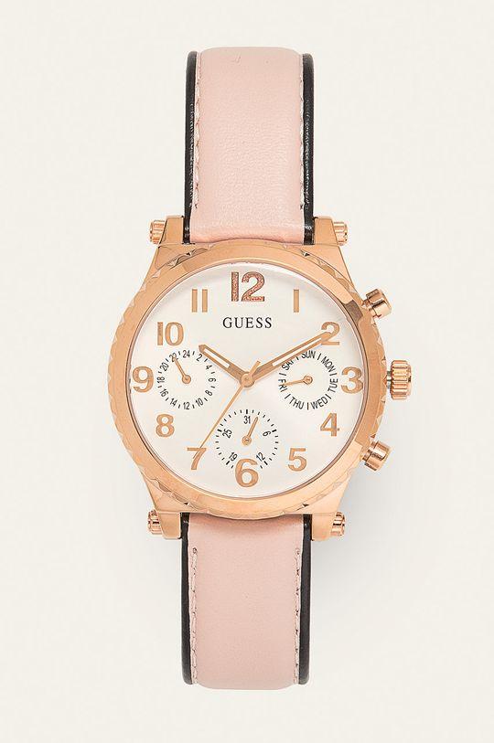różowy Guess - Zegarek GW0036L3 Damski