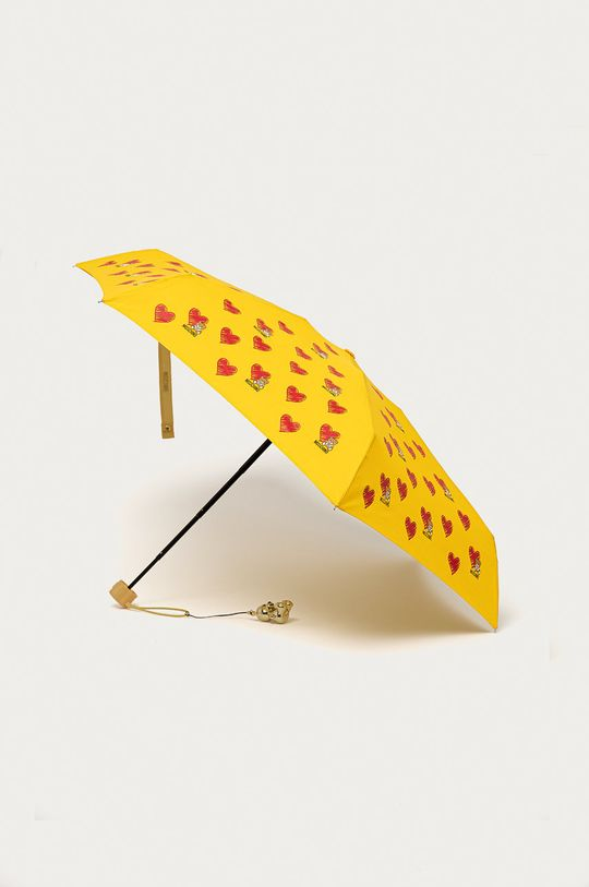 żółty Moschino - Parasol Damski