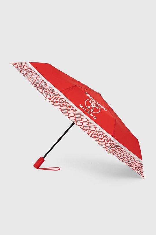 czerwony Moschino - Parasol Damski