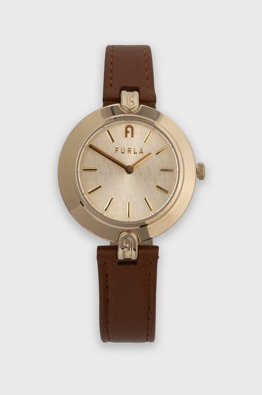 brązowy FURLA - Zegarek WW00002002L2 Damski