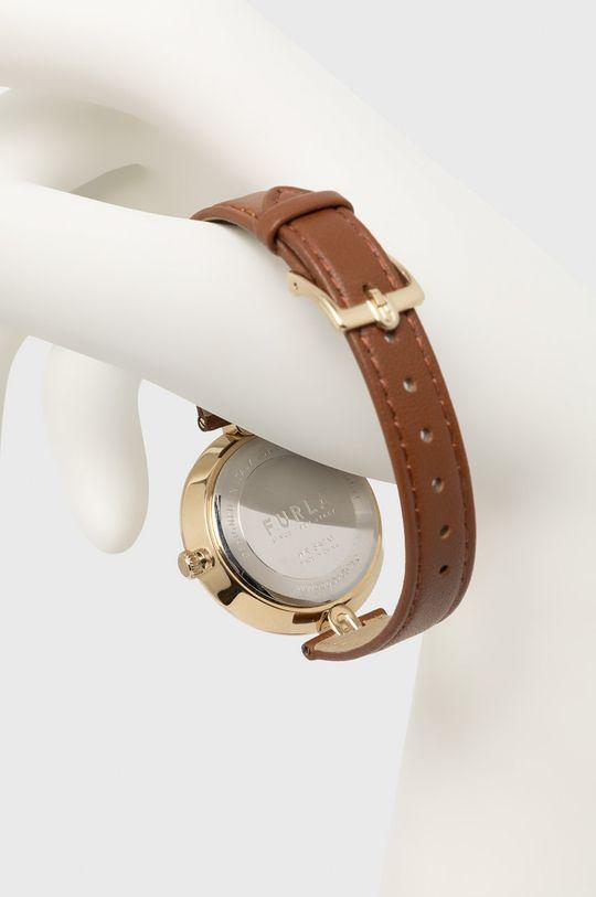 FURLA - Zegarek WW00002002L2 brązowy