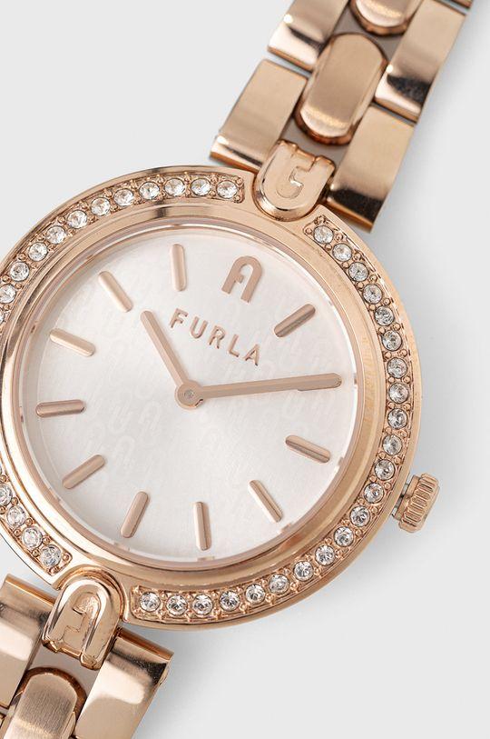 FURLA - Zegarek WW00002003L3 złoty