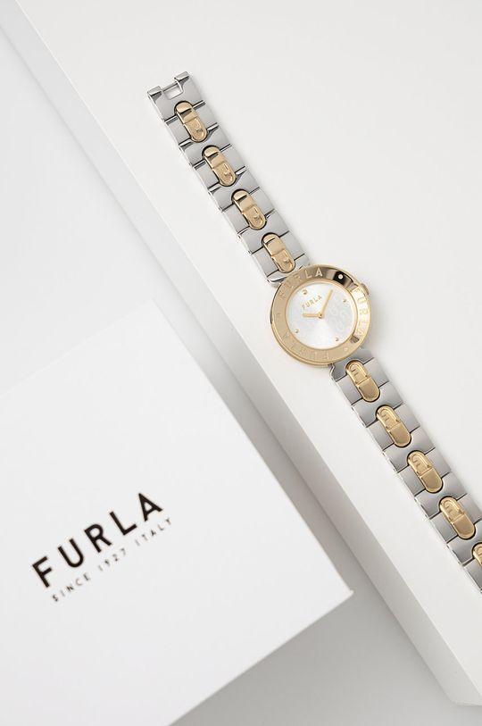 Furla - Hodinky WW00004007L4 stříbrná