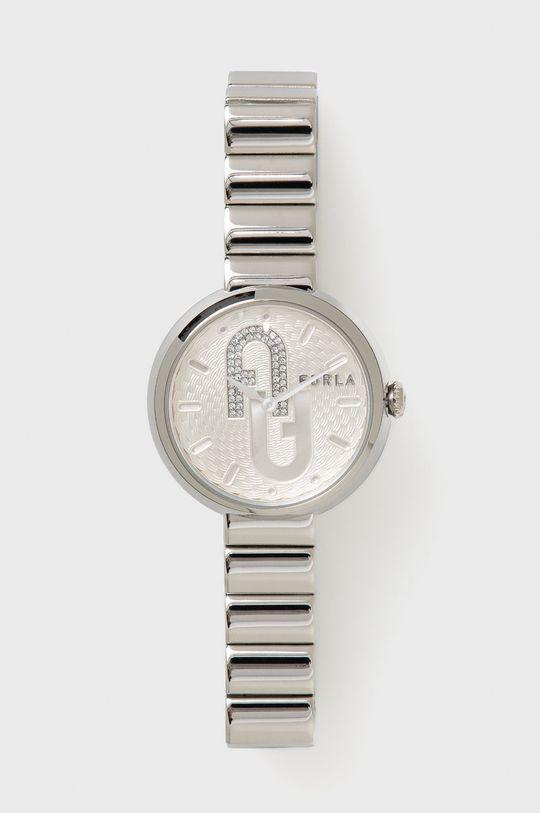 srebrny FURLA - Zegarek WW00005011L1 Damski