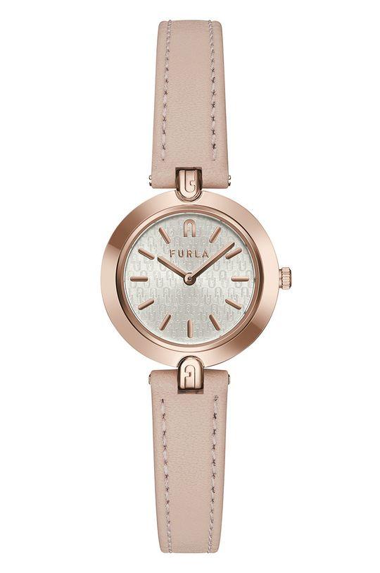 różowy FURLA - Zegarek WW00006003L3 Damski
