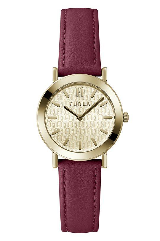 kasztanowy FURLA - Zegarek WW00007002L2 Damski