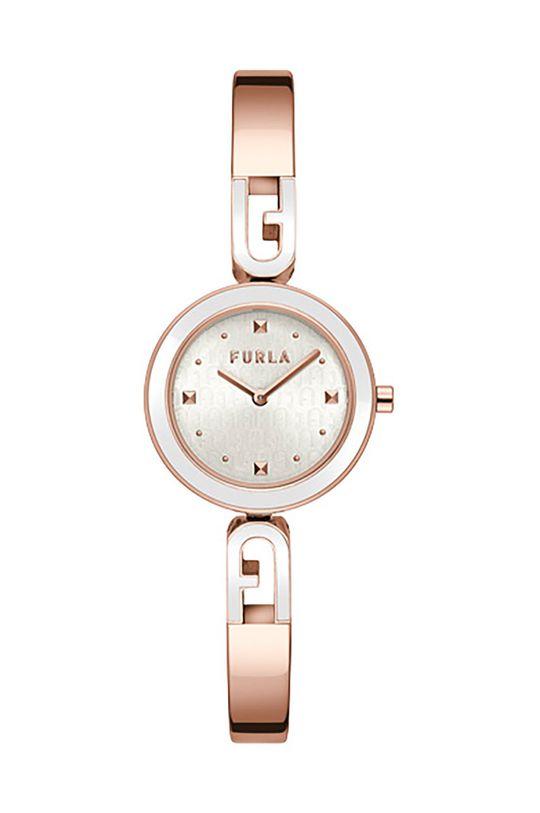 złoty FURLA - Zegarek WW00010006L3 Damski
