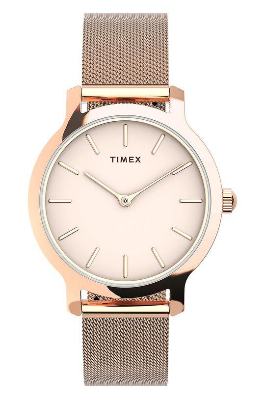 różowy Timex - Zegarek TW2U86600 Damski
