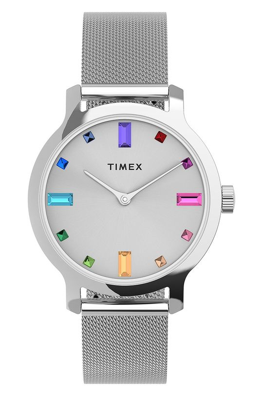 stříbrná Timex - Hodinky TW2U92900 Dámský