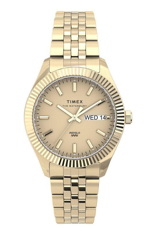 złoty Timex - Zegarek TW2U78500 Damski