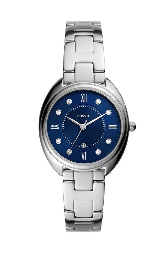 srebrny Fossil - Zegarek ES5087 Damski