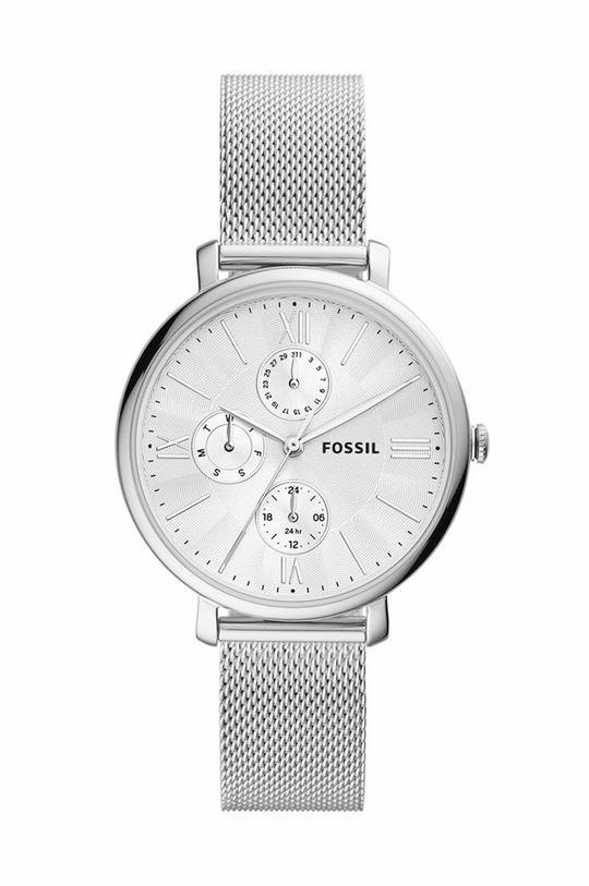 srebrny Fossil - Zegarek ES5099 Damski