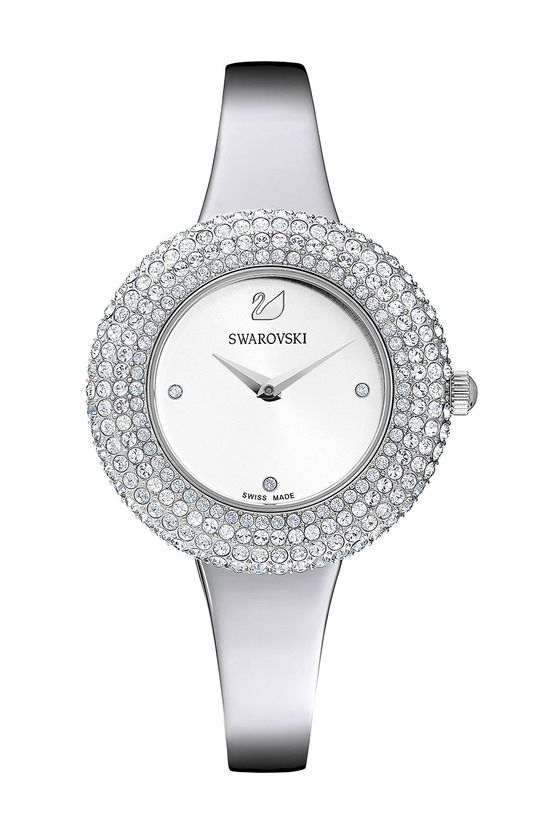 srebrny Swarovski - Zegarek 5483853 Damski